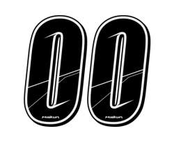 Number Sticker H10cm